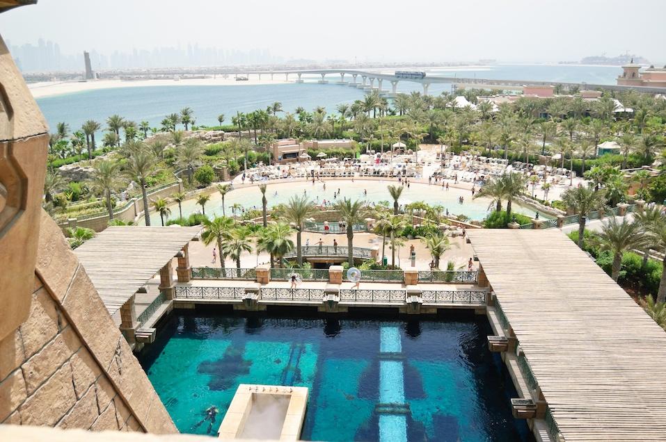 Waterpark of Atlantis the Palm hotel, Dubai,