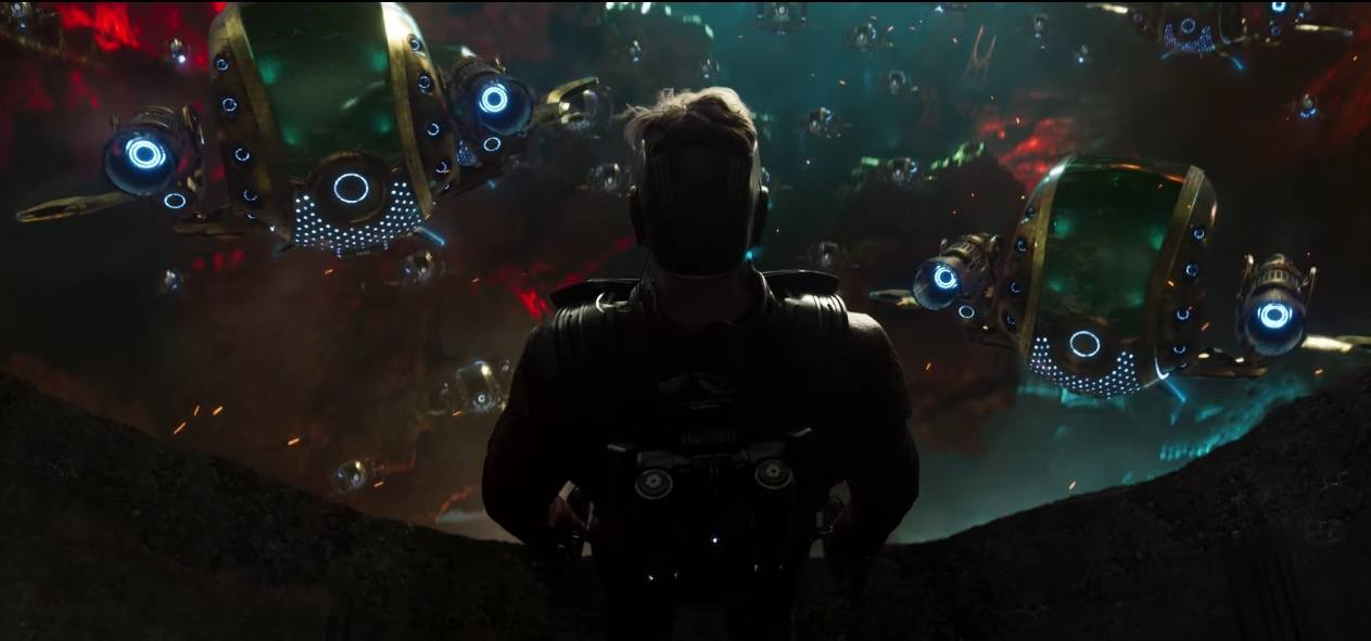 Star-Lord in Guardians of the Galaxy Vol. 2