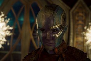 Why Nebula Was Really Smiling During Her Game With Tony Stark