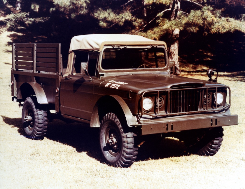1967 Jeep M-715 Cargo Truck