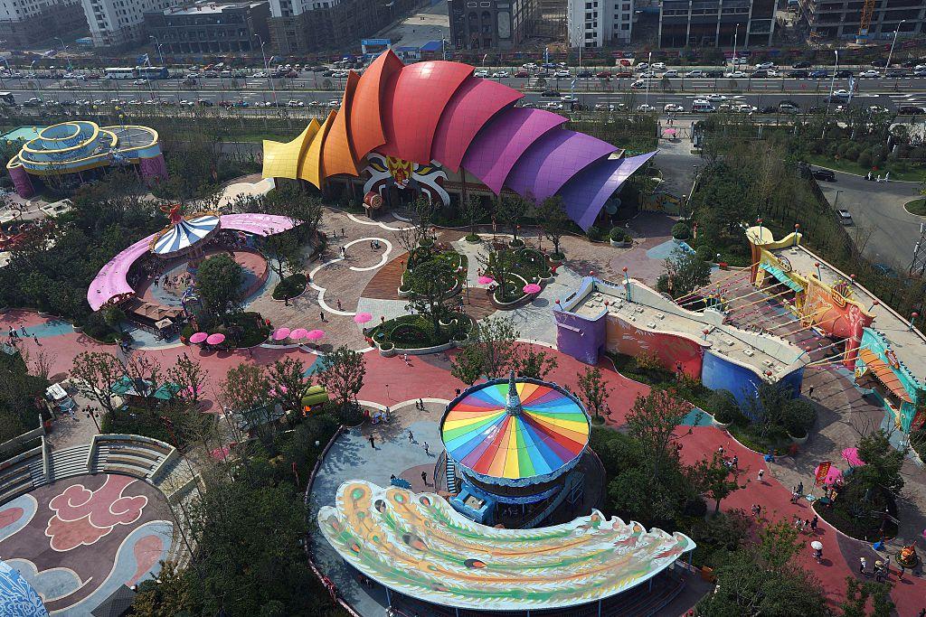 'Hefei Wanda Culture Tourism City' in Hefei, east China'