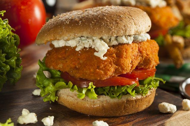 """As far as worst chicken sandwiches go, this one's pretty high on the """"nope"""" list."""
