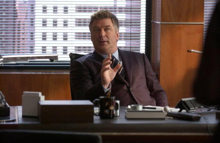 Alec Baldwin as Jack Donaghy on 30 Rock
