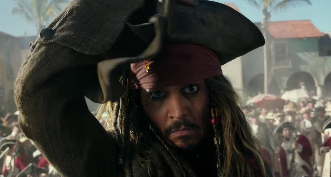 Jack Sparrow returns in the new Pirates of the Caribbean movie