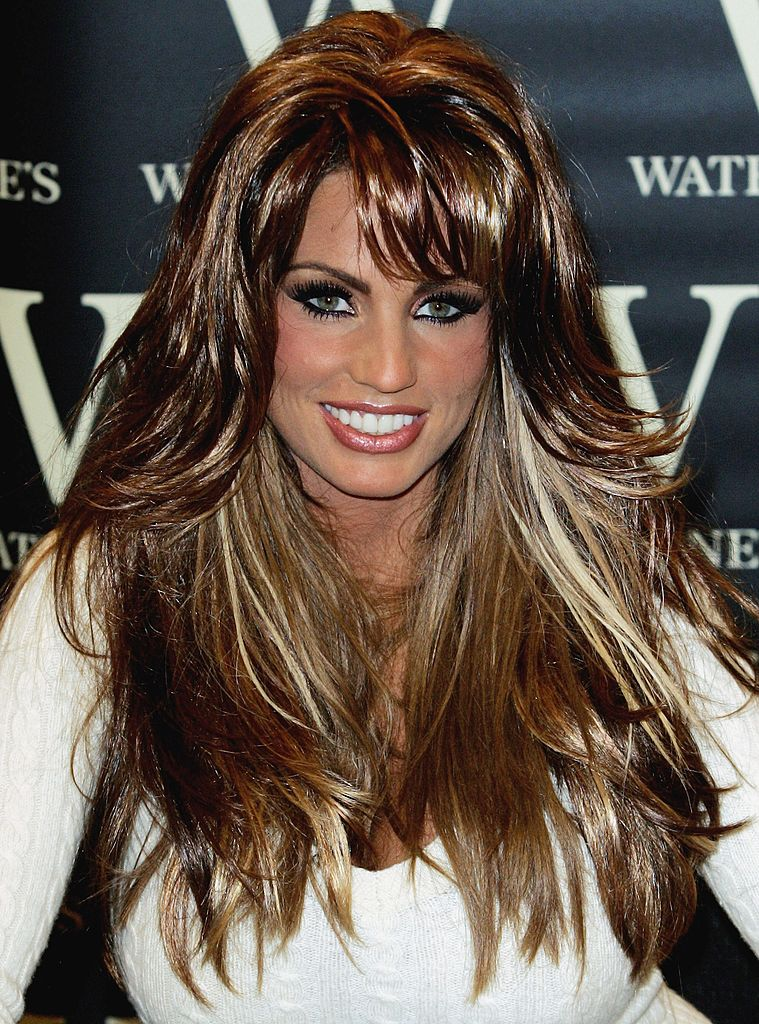 Katie Price Book Signing at Waterstones