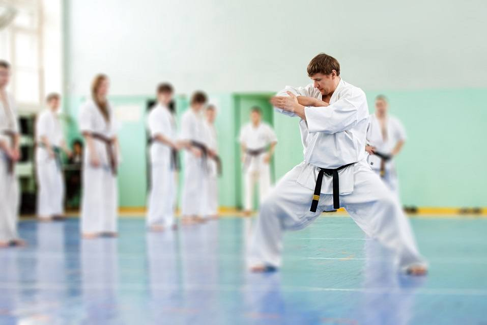 Karate school for adults and children