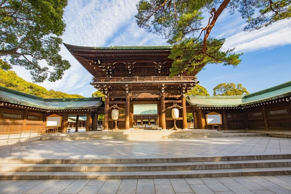 Meiji Shrine located in Shibuya, Tokyo