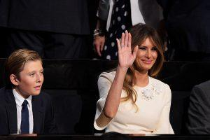 Melania Trump Passed This Strange Skin Care Tip to Barron (Plus, Her Other Beauty Secrets for Looking Young)