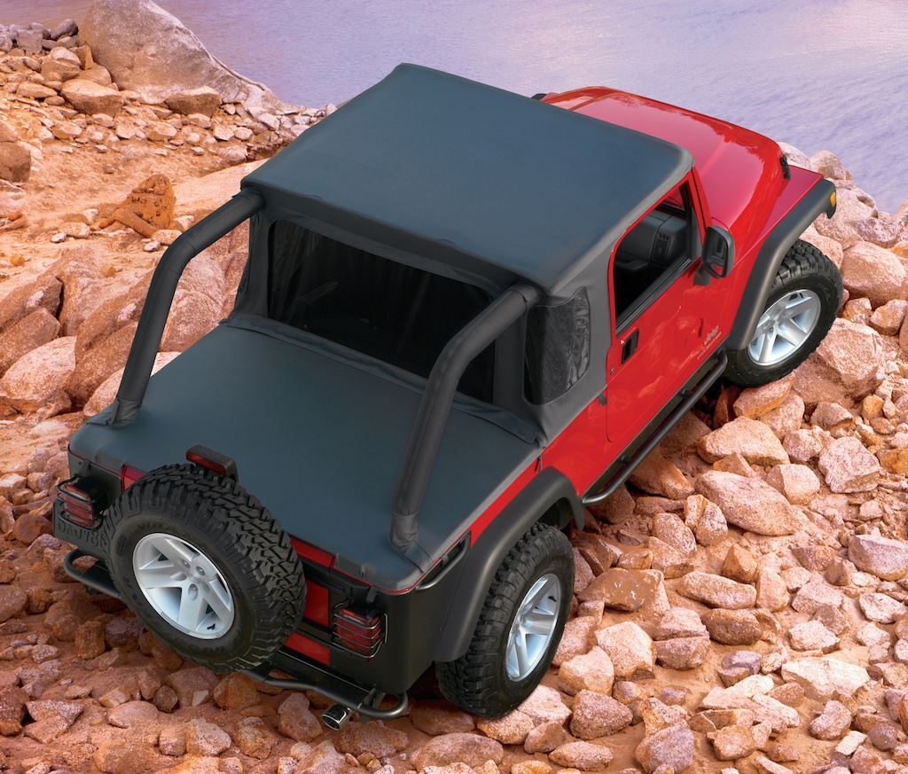 2006 Jeep Wrangler Unlimited with optional half top