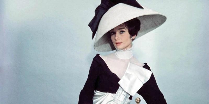 Eliza Doolittle posing in her new clothes.