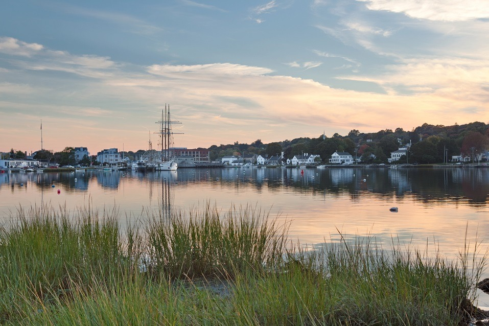 Historic Mystic Seaport in Connecticut
