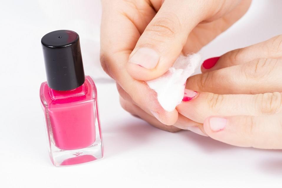 Removing nail polish