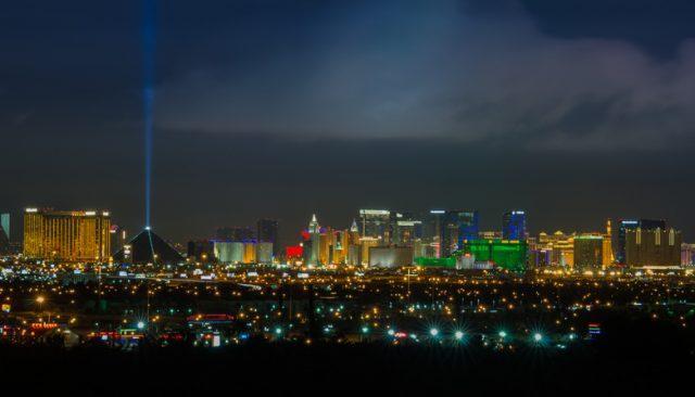 cityscape Las Vegas.