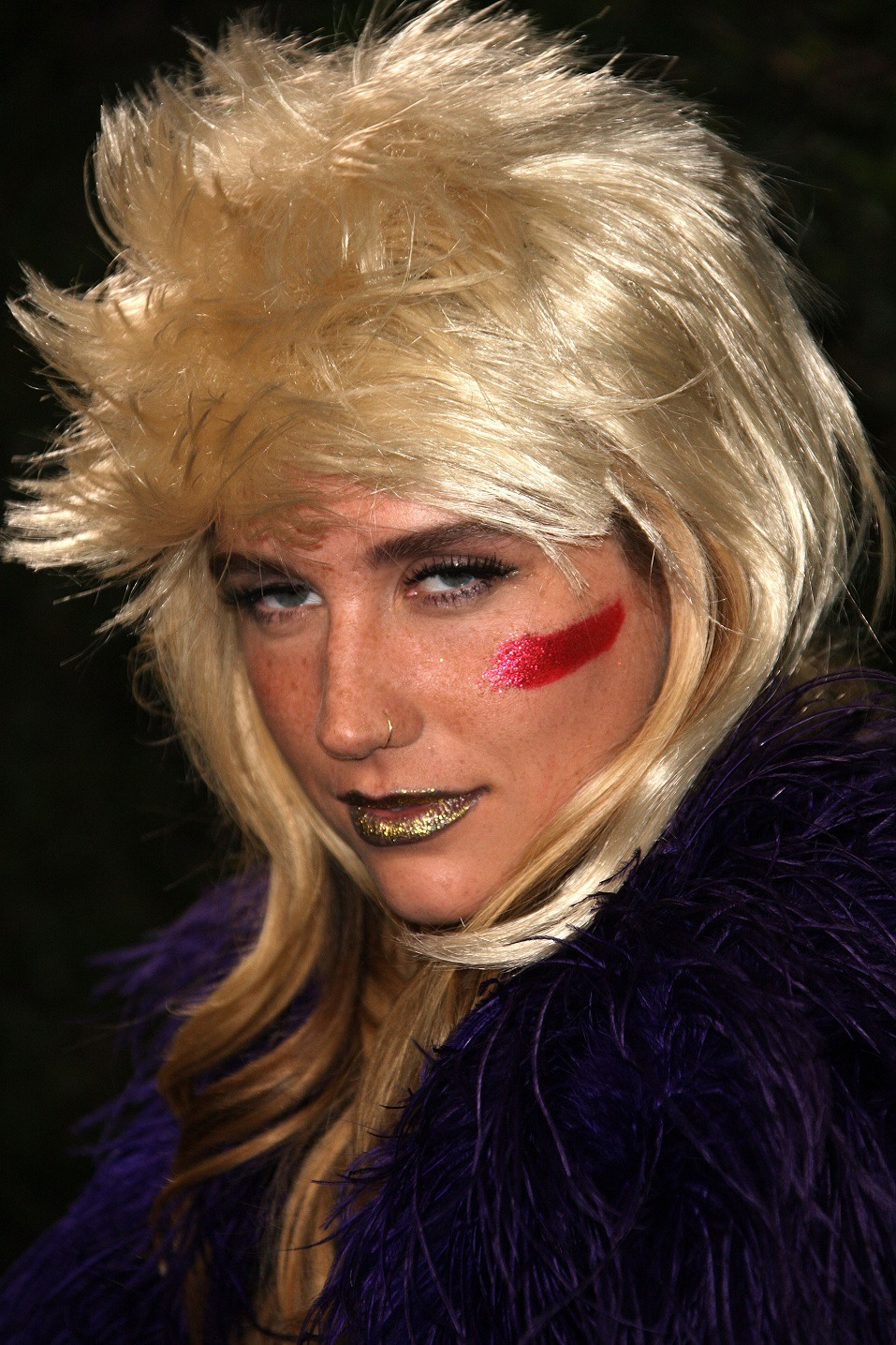 Recording artist Ke$ha attends the Rolling Stone 2010 American Music Awards