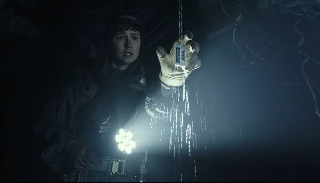 Elizabeth Shaw's dog tags in Alien Covenant