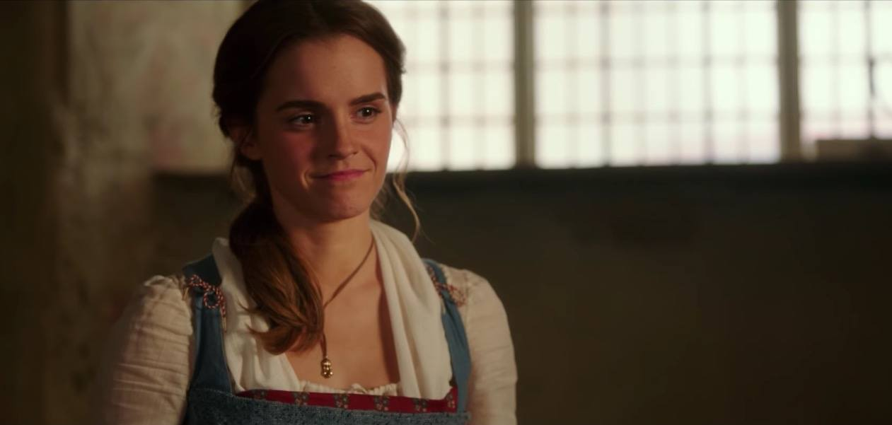 Emma Watson as Belle in Beauty and the Beast