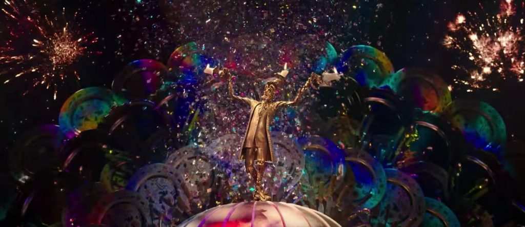 Lumiere in the new Beauty and the Beast
