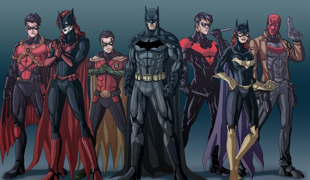 The entire Bat Family