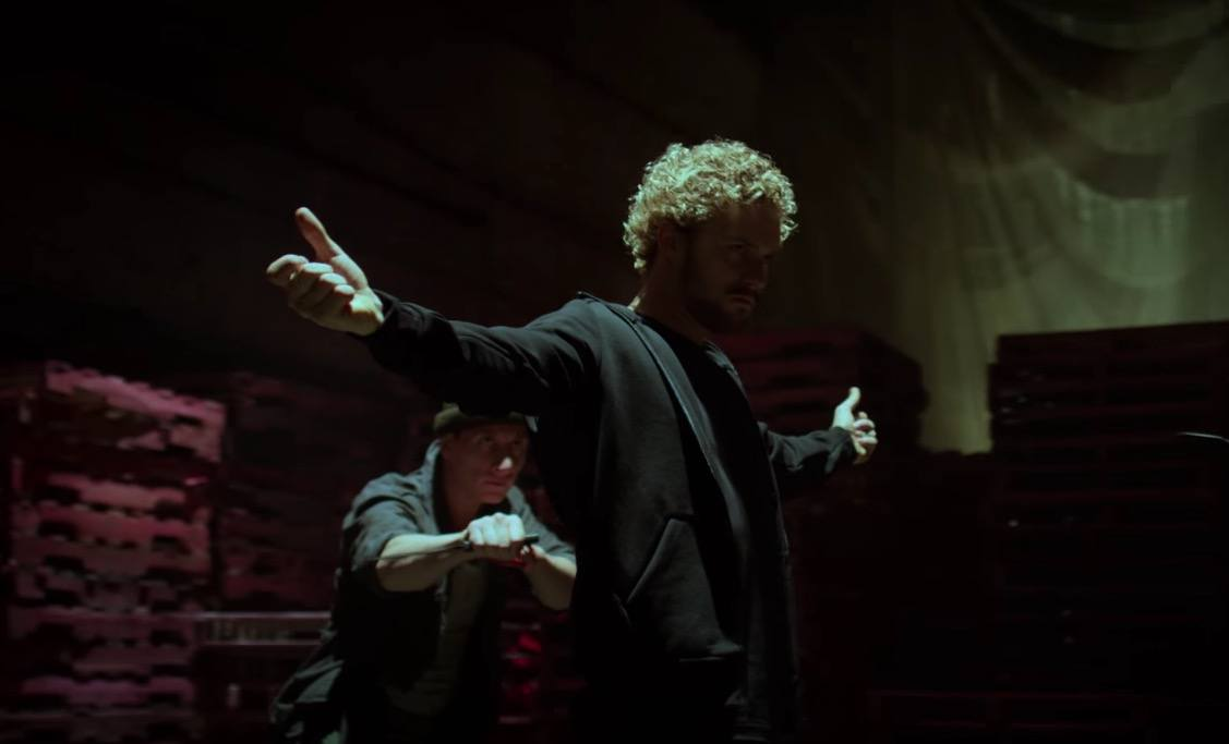 Danny Rand prepares to fight in Iron Fist