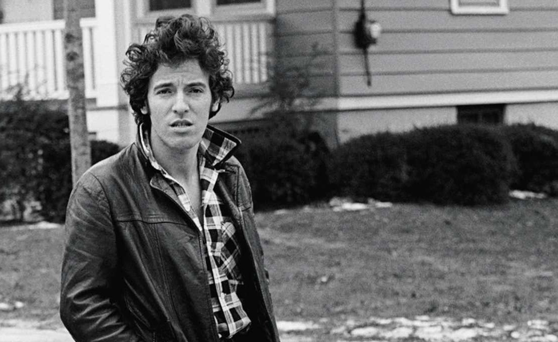 Cover art for Bruce Springsteen's memoir, Born to Run