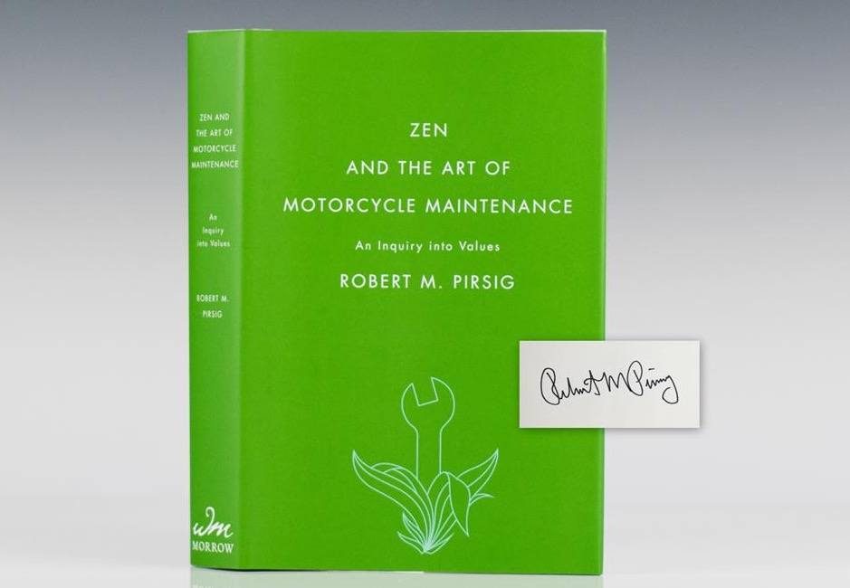 Zen and the Art of Motorcyle Maintenance cover art