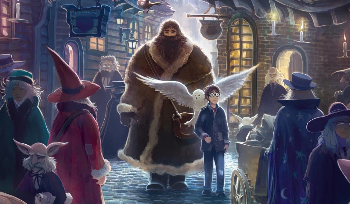 Cover art for Harry Potter and the Sorcerer's Stone
