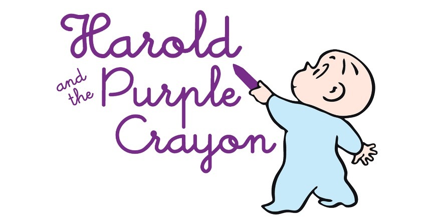 Harold and the Purple Crayon cover art