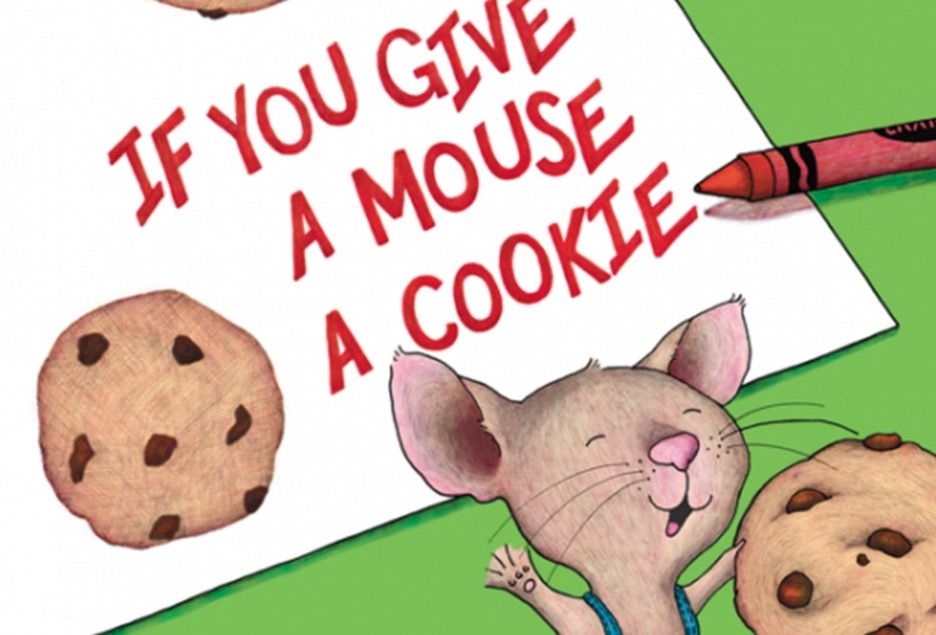 If You Give A Mouse a Cookie cover art