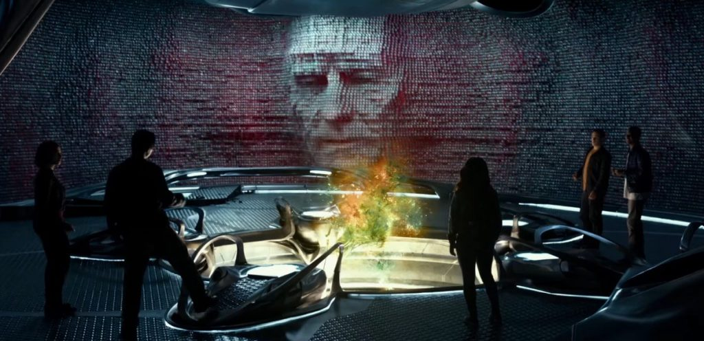 Bryan Cranston as Zordon in the new Power Rangers movie