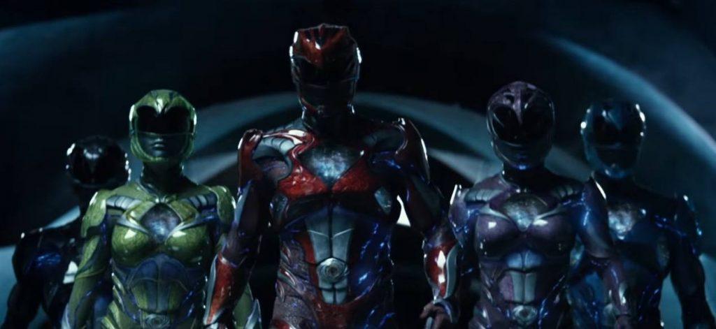 The new Power Rangers