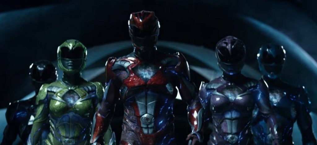 The new Power Rangers