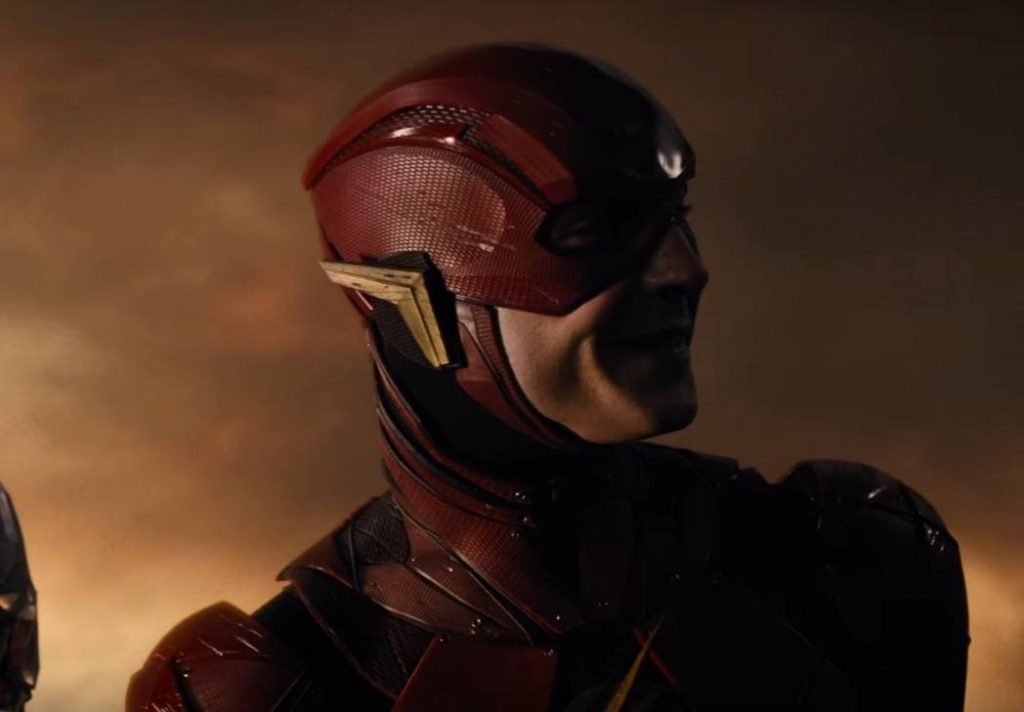 Ezra Miller as The Flash in Justice League
