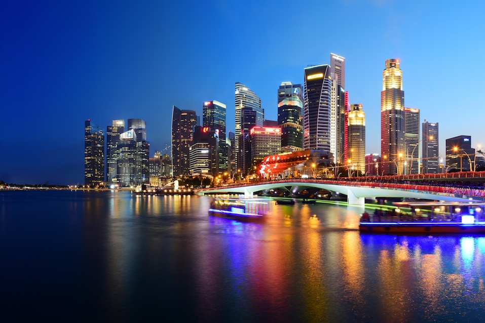 Singapore Panoramic Cityscape