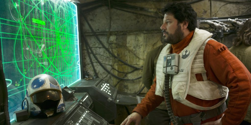 Snap Wexley in The Force Awakens