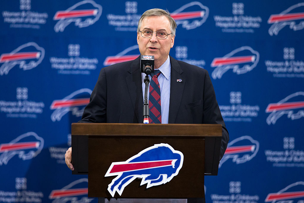Terry Pegula, owner of the Buffalo Bills