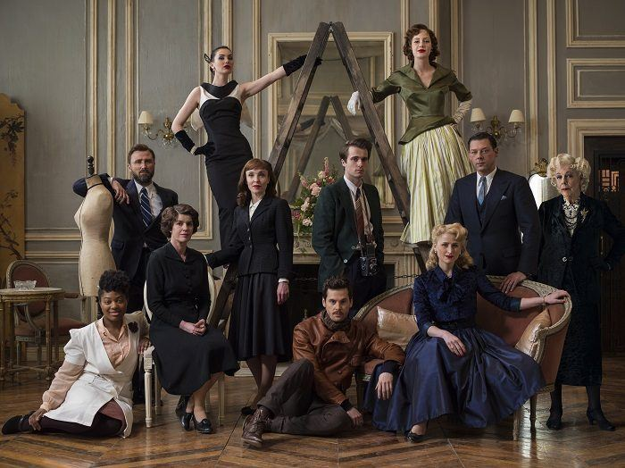 The cast of Amazon's The Collection