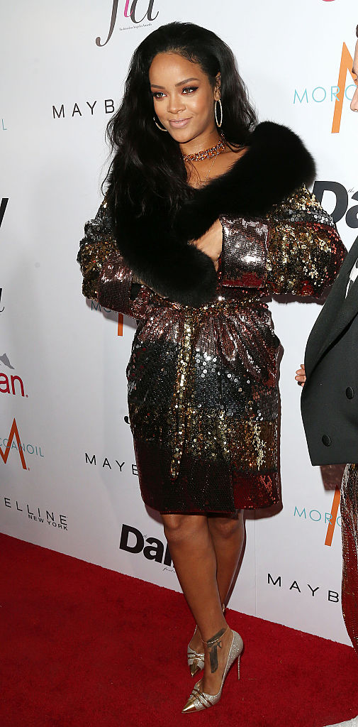 "Rihanna attends The DAILY FRONT ROW ""Fashion Los Angeles Awards"""