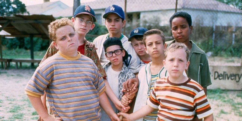 The cast of The Sandlot