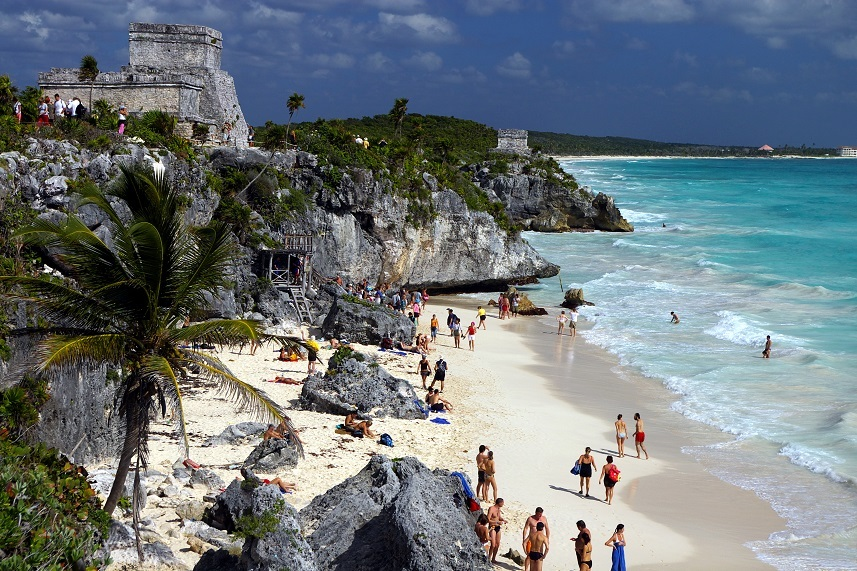 Mayan ruins at Tulum, Mexico