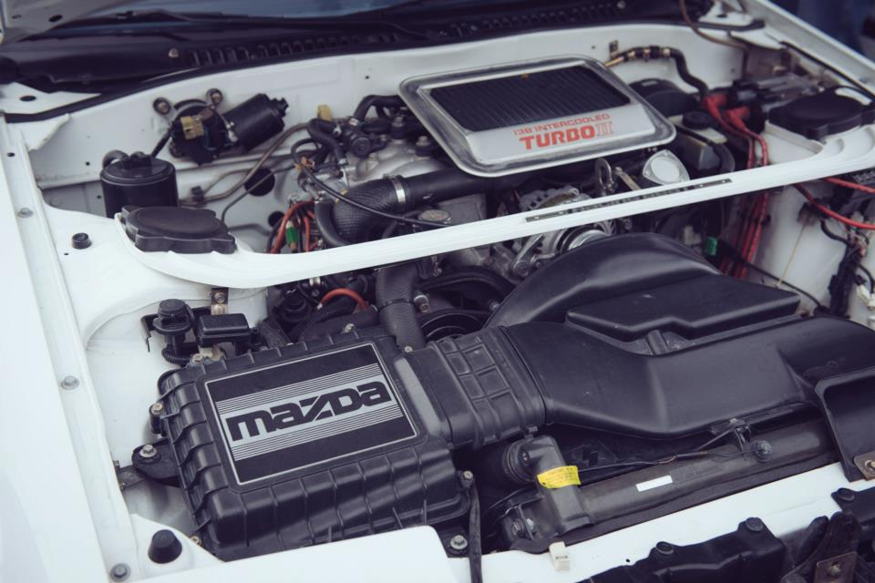 Old engines like this rotary found in a Mazda RX-7 will burn oil