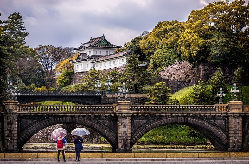 Imperial Palace in Tokyo, Japan