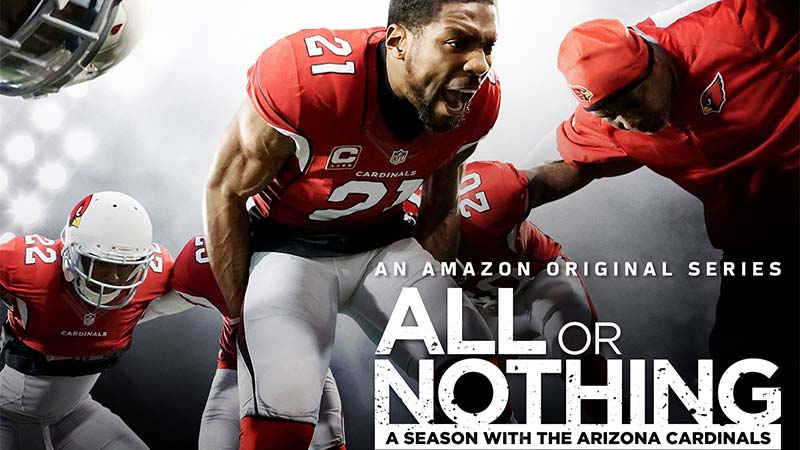 The Arizona Cardinals star in Amazon's All or Nothing documentary series