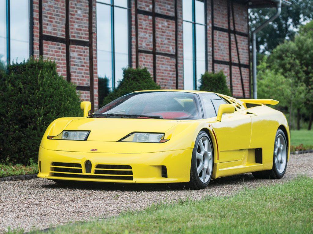 This Bugatti EB110 sold for $950,000 in 2015