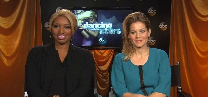 Candace Cameron and Nene Leakes in an interview.