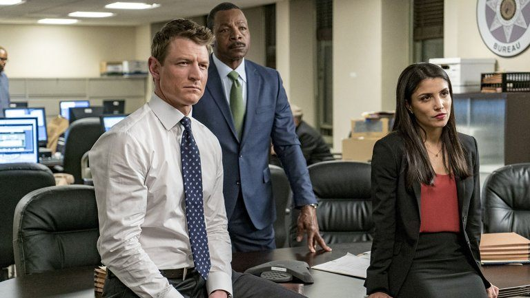 The cast of Chicago Justice on NBC