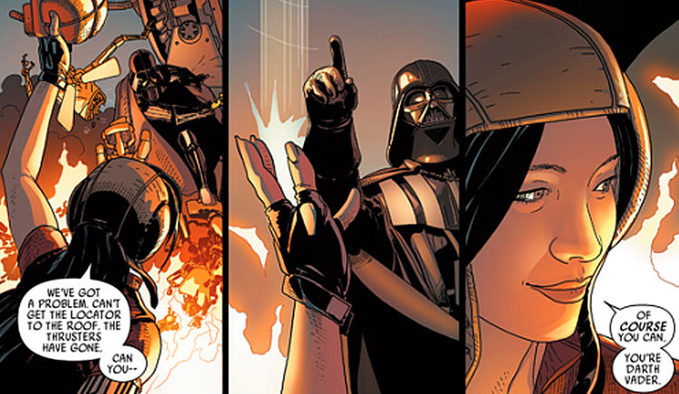 Darth Vader and Doctor Aphra