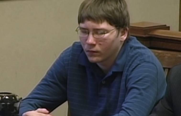Brendan Dassey appears in court in Netflix's Making a Murderer