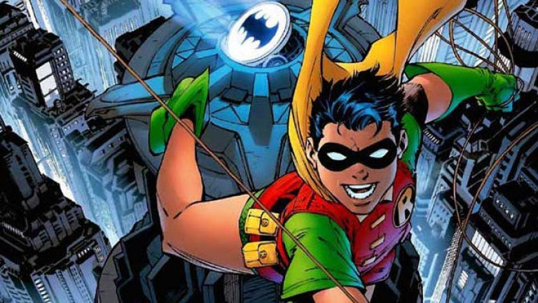 Dick Grayson as Robin in DC's comics