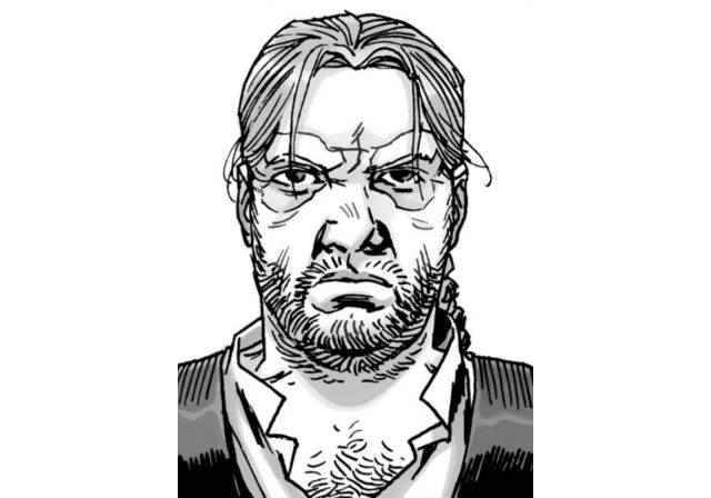 An image of Eugene Porter from Robert Kirkman's 'The Walking Dead' comic series.