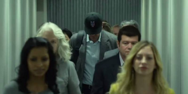 Ben Affleck wearing a Mets cap in Gone Girl.